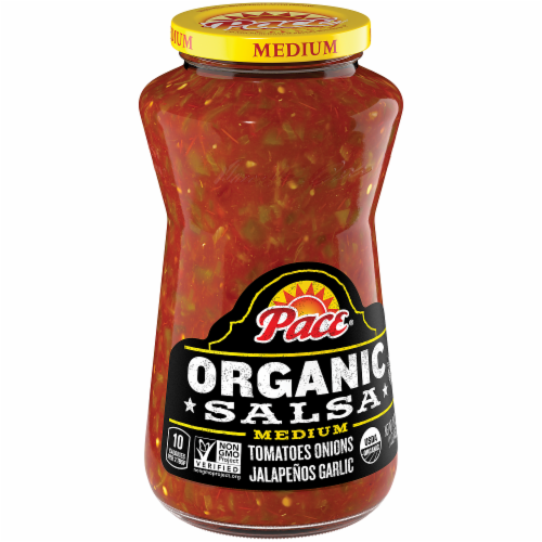 Pace Organic Medium Salsa Perspective: front