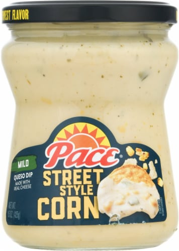 Pace Street Style Corn Mild Queso Dip Perspective: front