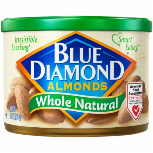 Blue Diamond® Whole Natural Almonds Perspective: front