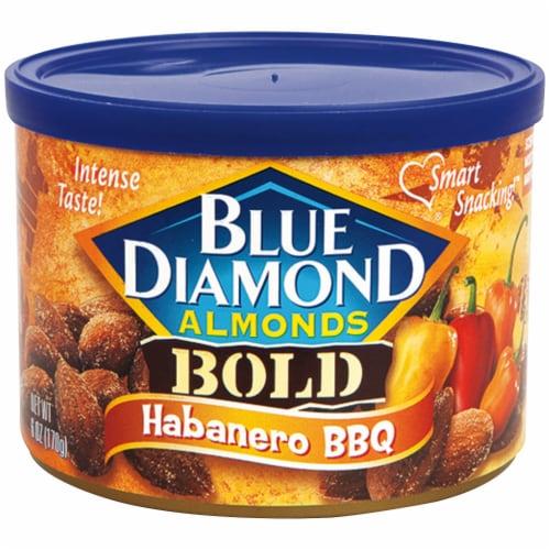 Blue Diamond Bold Habanero BBQ Almonds Perspective: front