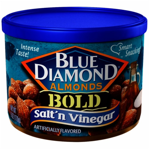 Blue Diamond Bold Salt 'n Vinegar Almonds Perspective: front
