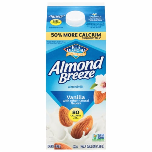 Almond Breeze Vanilla Almondmilk Perspective: front