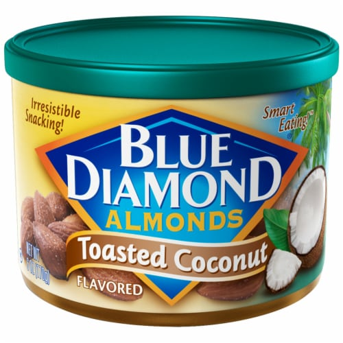 Blue Diamond Toasted Coconut Almonds Perspective: front