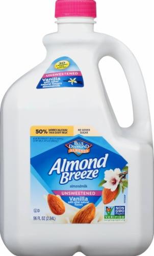 Almond Breeze Unsweetened Vanilla Almondmilk Perspective: front