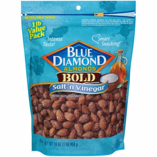 Blue Diamond Bold Salt 'N Vinegar Almonds Perspective: front