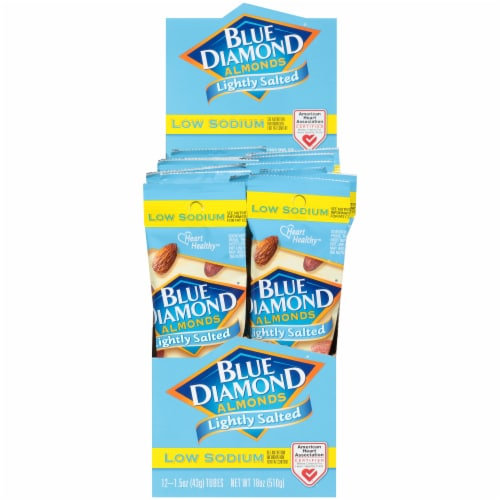 Blue Diamond Lightly Salted Almonds Perspective: front