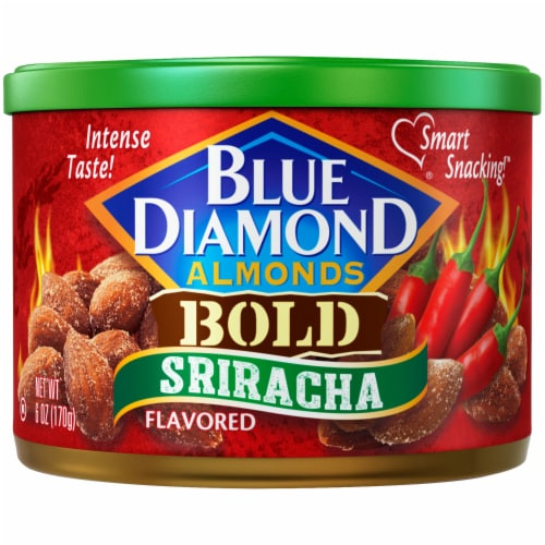 Blue Diamond Bold Sriracha Almonds Perspective: front