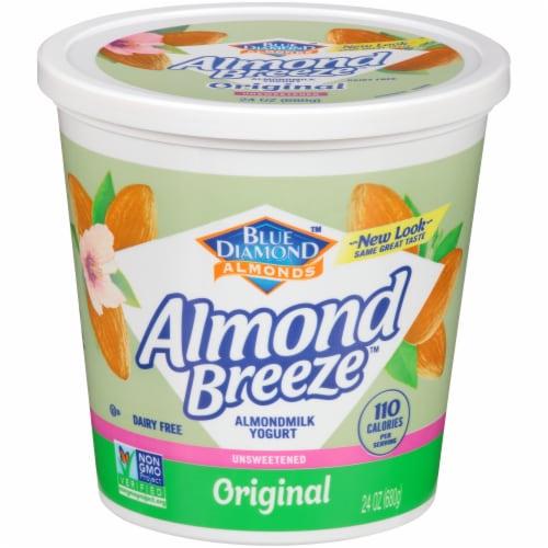 Blue Diamond Almond Breeze Original Almondmilk Yogurt Alternative Perspective: front