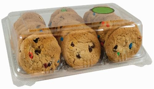 Bakery Fresh M&M Cookies Perspective: front