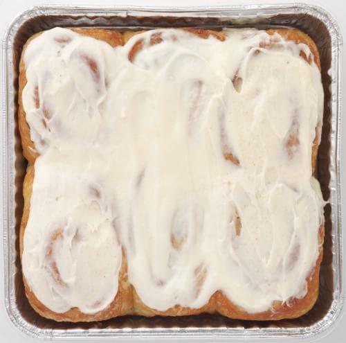 Bakery Fresh Cinnamon Rolls Perspective: front