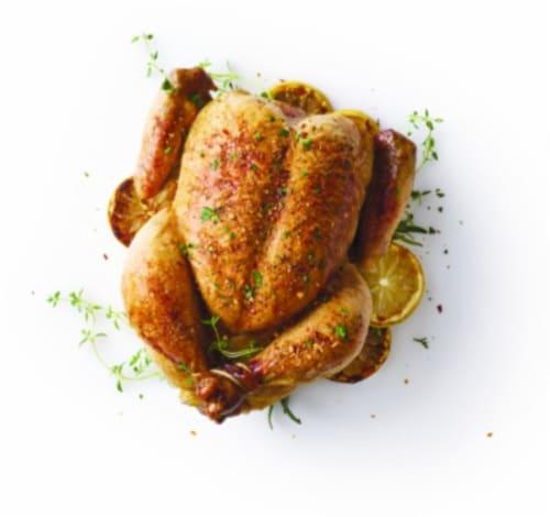 Rotisserie Chicken Perspective: front