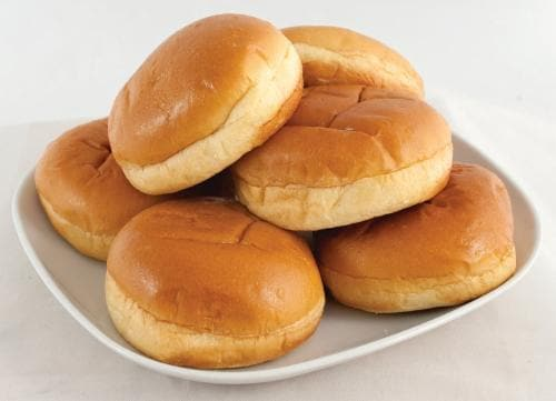 Bakery Fresh Brioche Hamburger Buns Perspective: front