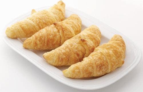 Parisian All Butter Petite Croissants Perspective: front