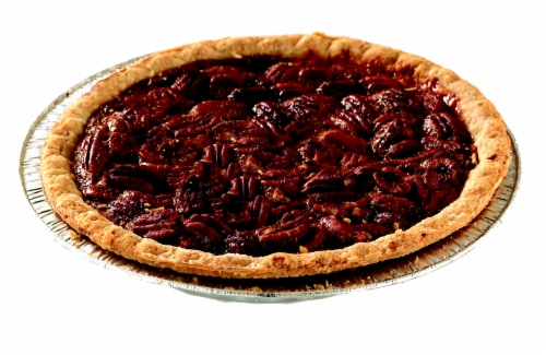 Southern Pecan Pie Half Perspective: front