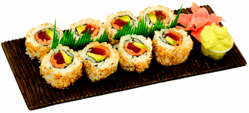Spicy Tuna Maki Sushi NOT AVAILABLE BEFORE 11:00 AM DAILY Perspective: front