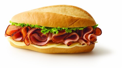 Grab & Go Black Forest Ham with Swiss Sandwich Perspective: front