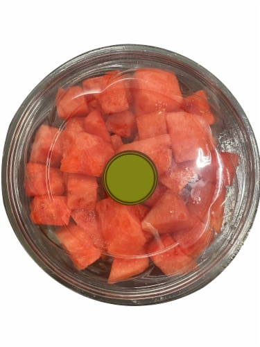 Fresh Cut Watermelon Perspective: front