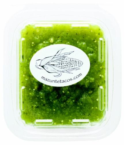 Mazunte Salsa Verde Perspective: front
