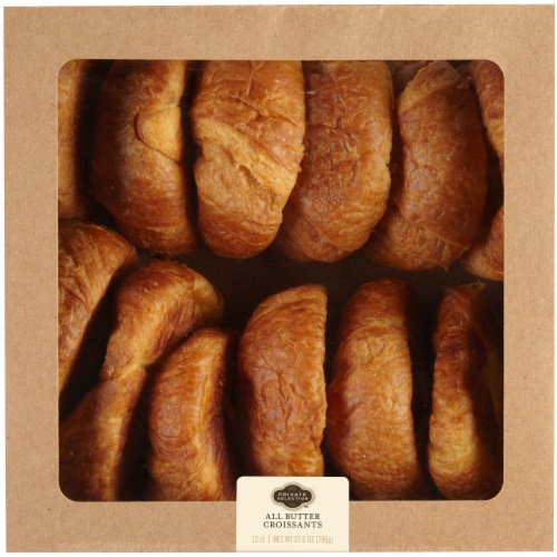 Private Selection™ All Butter Croissants Perspective: front