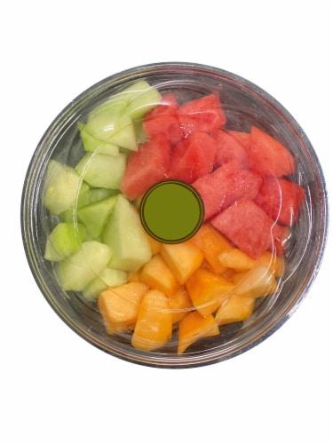 Fresh Cut Melon Perspective: front