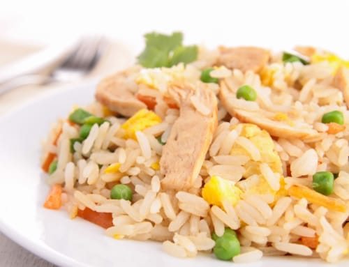 Chinese Kitchen Chicken Fried Rice (NOT AVAILABLE BEFORE 11 A.M.) Perspective: front