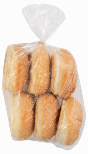 Bakery Fresh Kaiser Rolls 6 Count Perspective: front
