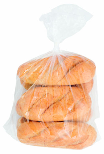Bakery Fresh White Sub Rolls Perspective: front