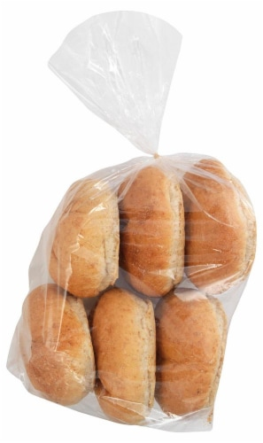 Bakery Fresh Goodness Wheat Kaiser Rolls Perspective: front