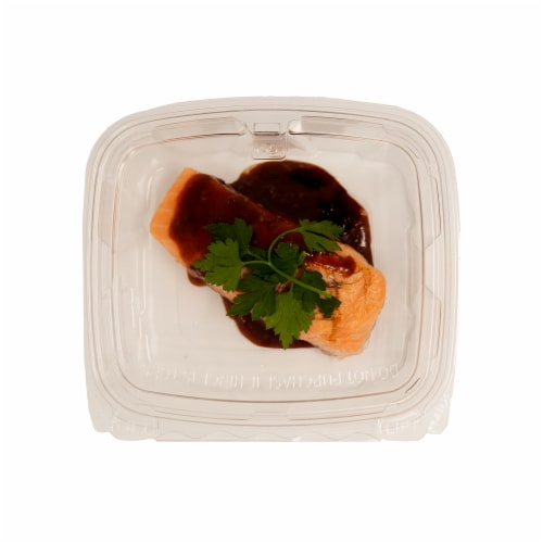 Korean Barbecue Grilled Salmon Perspective: front