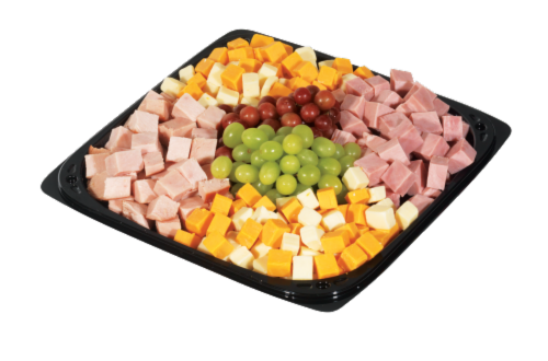 Deli Cubed Meat and Cheese Tray Perspective: front