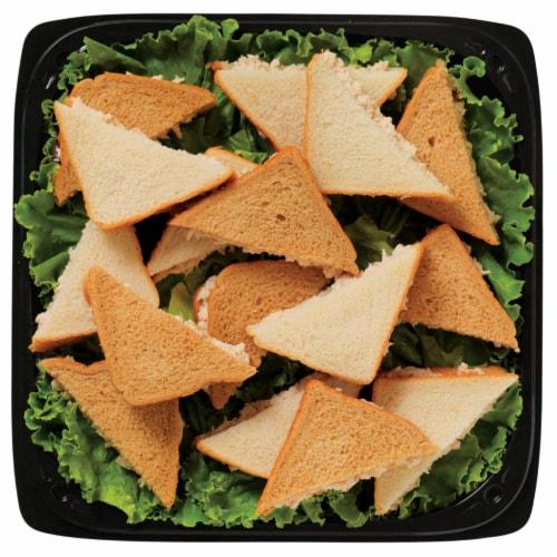 Chicken Salad Sandwich Platter Perspective: front