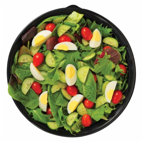 Spring Mix Salad Tray Perspective: front