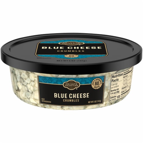 Private Selection® Blue Cheese Crumbles Perspective: front
