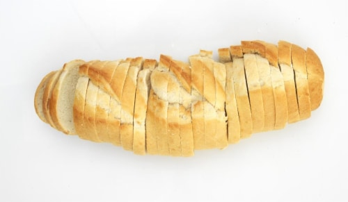 Bakery Fresh French Bread Sliced Perspective: front
