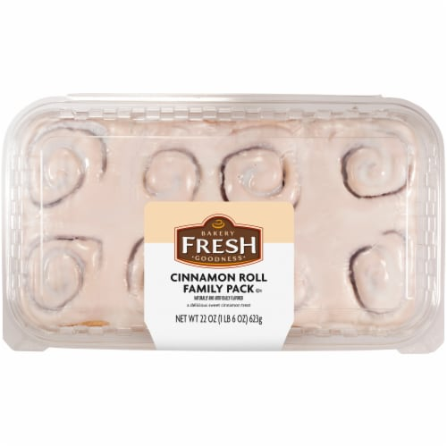 Bakery Fresh Goodness Cinnamon Rolls Family Pack 8 Count Perspective: front