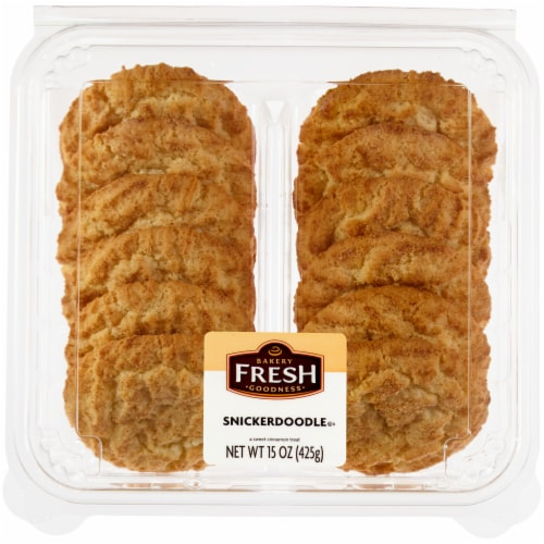 Bakery Fresh Goodness Snickerdoodle Cookies Perspective: front
