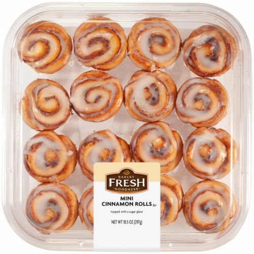 Bakery Fresh Goodness Mini Cinnamon Rolls Perspective: front