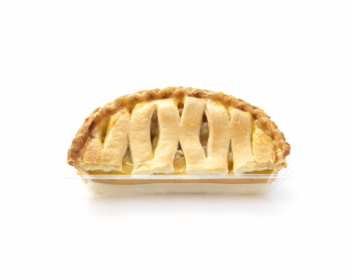 Private Selection Baked Peach Pie Half Perspective: front