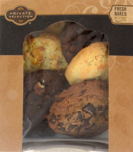 Private Selection® Gourmet Variety Cookie Tray Perspective: front