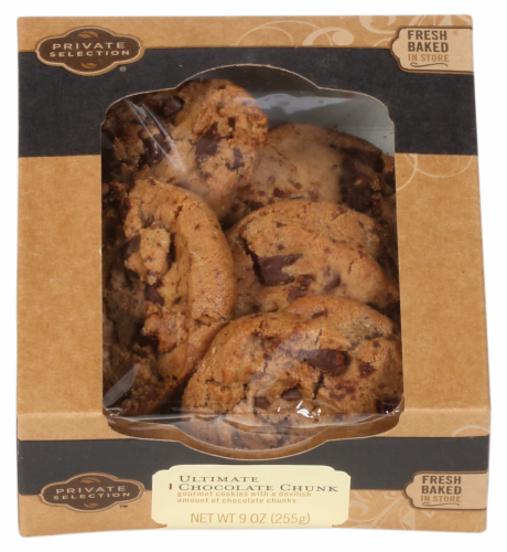 Private Selection™ Ultimate Chocolate Chunk Cookies Perspective: front
