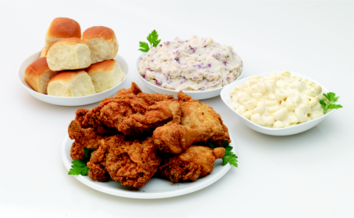 Deli Fresh Hot Fried Chicken 12-piece Meal (NOT AVAILABLE BEFORE 11:00 am DAILY) Perspective: front