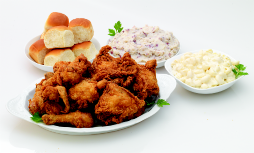 Deli Fresh Hot Fried Chicken 16-piece Meal (NOT AVAILABLE BEFORE 11:00 am DAILY) Perspective: front