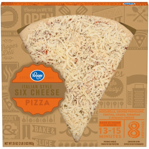 Kroger® Italian Style Six Cheese Pizza Perspective: front