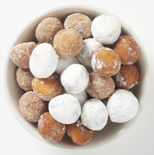 Bakery Fresh Assorted Cake Donut Holes Perspective: front
