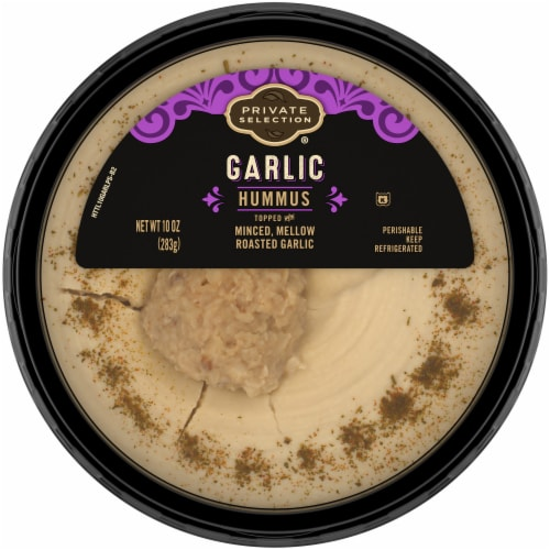 Private Selection® Roasted Garlic Hummus Perspective: front