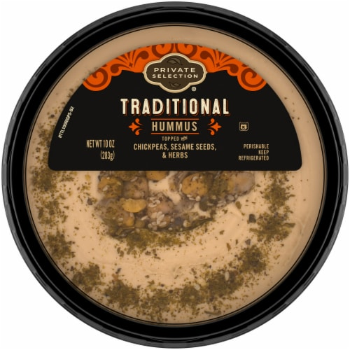 Private Selection® Traditional Hummus Perspective: front