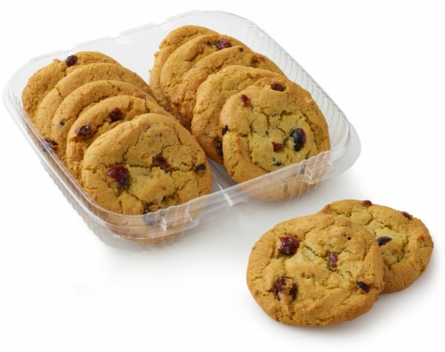 Bakery Fresh Goodness Cranberry Orange Soft Top Cookies Perspective: front