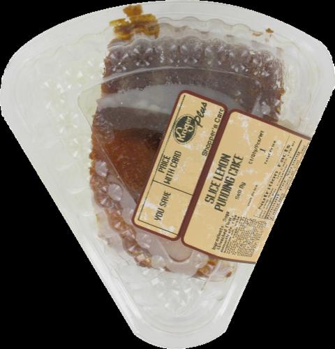 Kroger® Lemon Pudding Cake Slice Perspective: front