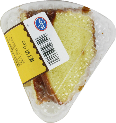 Ralphs Vanilla Pudding Cake Slice Perspective: front