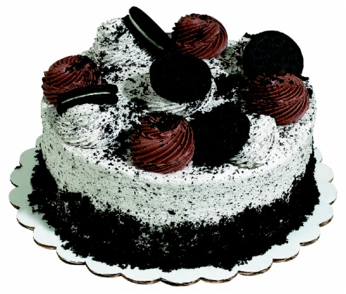 Bakery Fresh Goodness Oreo Double Layer Cake Perspective: front